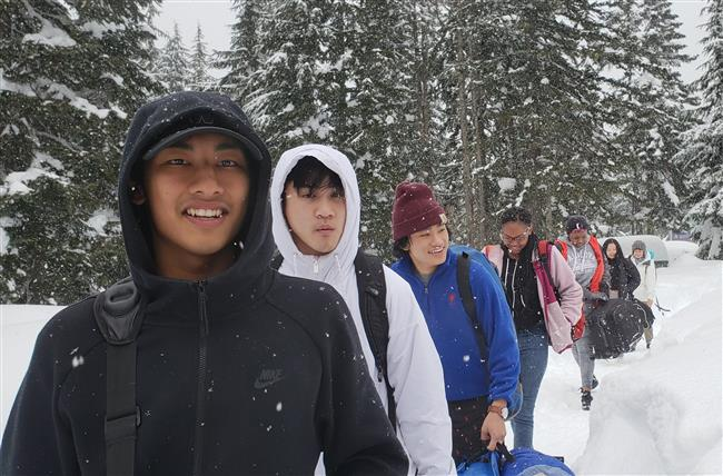 6 youth leaders coming to the WAC cabin for a 2-night winter weekend.