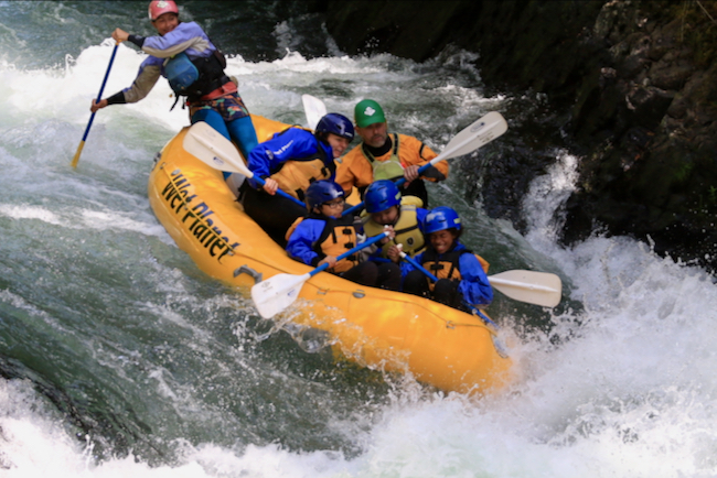 The highlight of the weekend was rafting on the White Salmon River with Wet Planet Whitewater (https://wetplanetwhitewater.com/).